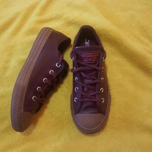 Converse All Star genuine leather sneakers